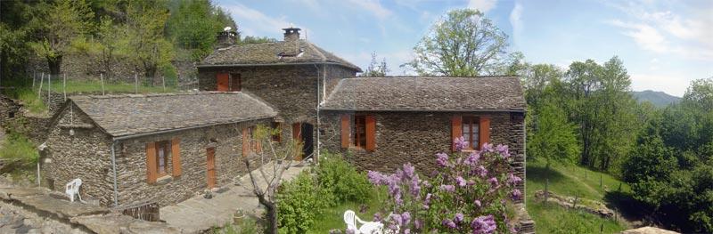 Au bancilhon gite la ferme avec piscine naturelle parc - La maison des cevennes ...